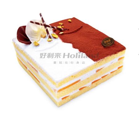 好利来蛋糕\/心呓(6寸):6寸,欧式蛋糕,基本型号为