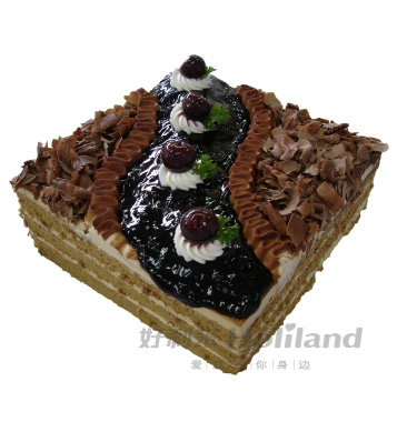 美酒咖啡(6寸):6寸,欧式蛋糕