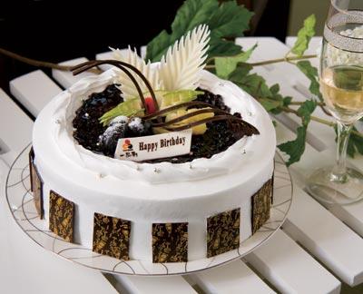 梦幻之城(3磅):3磅(10寸),蛋糕+双层夹心+时令
