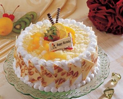 一品轩蛋糕\/米兰鲜果(4磅):4磅(12寸)