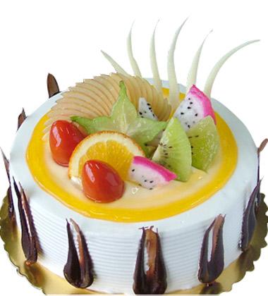 欧式花型蛋糕图片大全