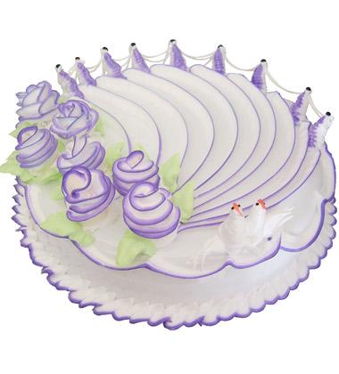 制作蛋糕矢量图