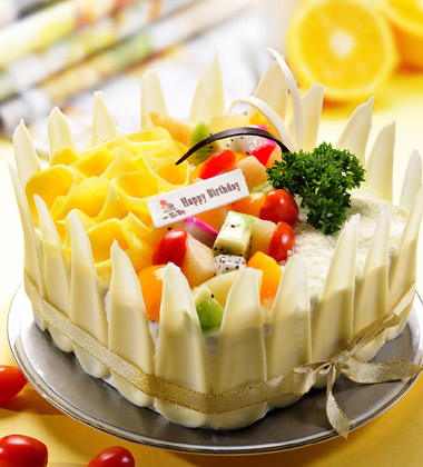 一品轩蛋糕\/花之爱恋(3磅):3磅(10寸)