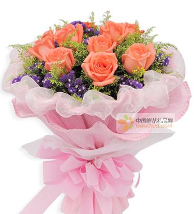 11朵红玫瑰花语_鲜花图片