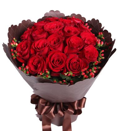 19朵紅玫瑰