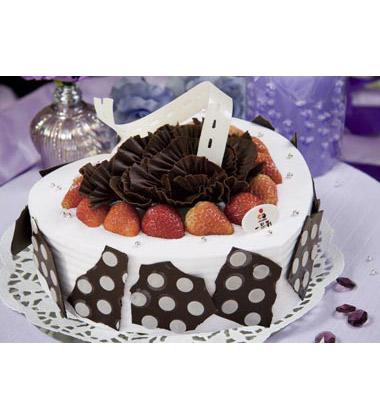 一品轩蛋糕\/诺曼蒂克(2磅):2磅(8寸),巧克力蛋糕