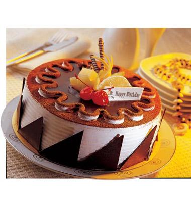 高端欧式水果鲜花蛋糕图片
