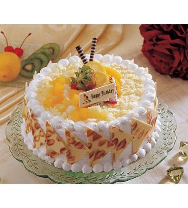 水果蛋糕图片可爱独特