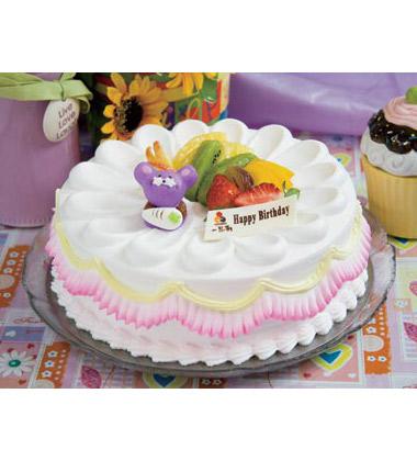 蛋糕立体动物造型