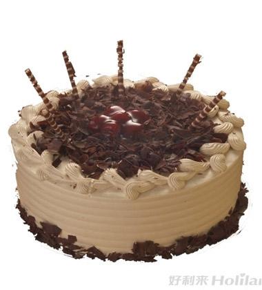 欧式鲜花蛋糕图片
