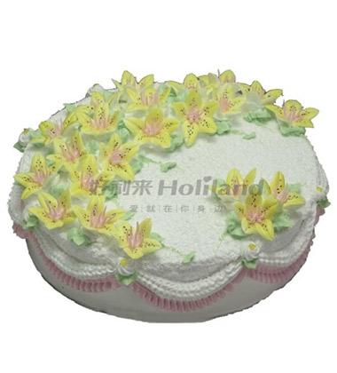 蛋糕盘子手工制作图片花