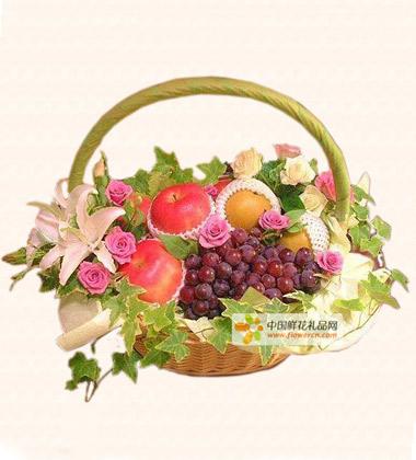 文字图片可爱清新水果