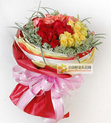 12朵黄玫瑰图片