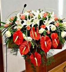 会议鲜花 会议用花 会议桌花 会场 摆花 中国鲜