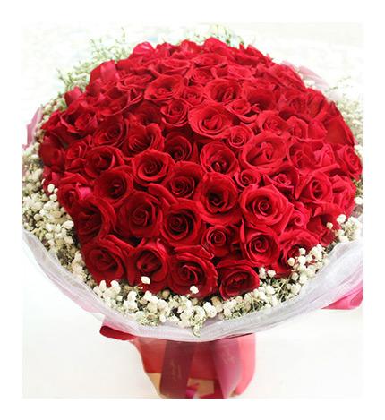 玫瑰丝带花折法图解